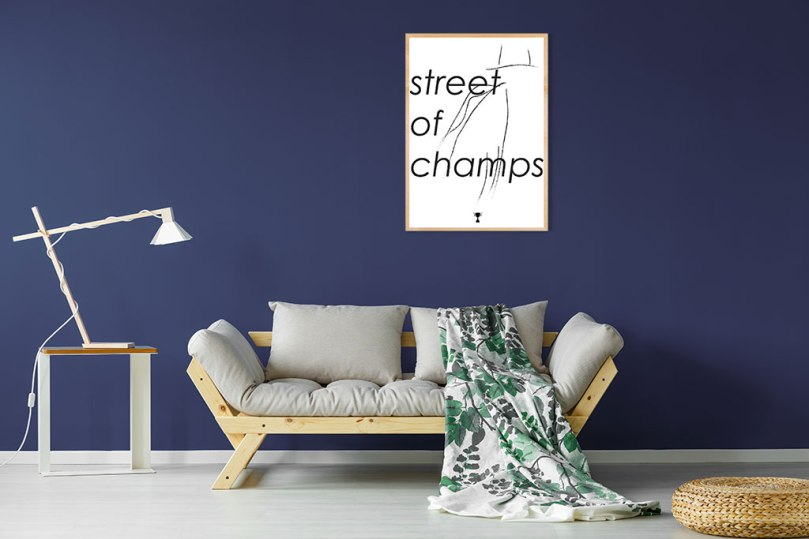 Blue-Wall-street-of-champs-kongstad-prints (1)